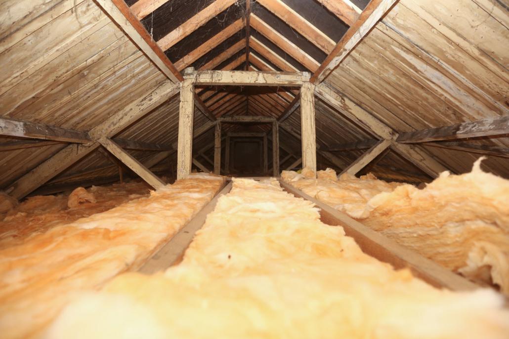Ninfield Hall insulation
