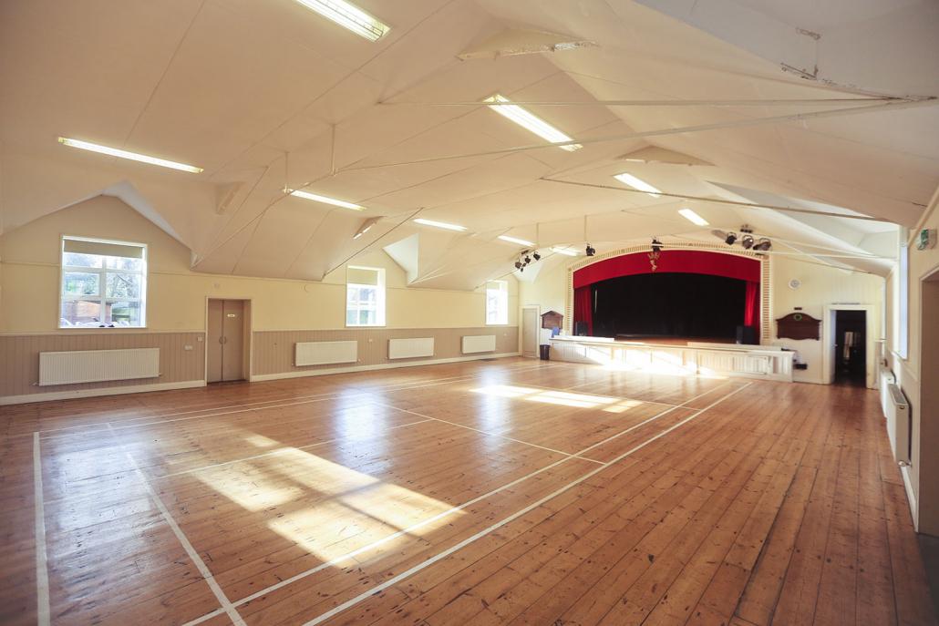 Ninfield Hall interior