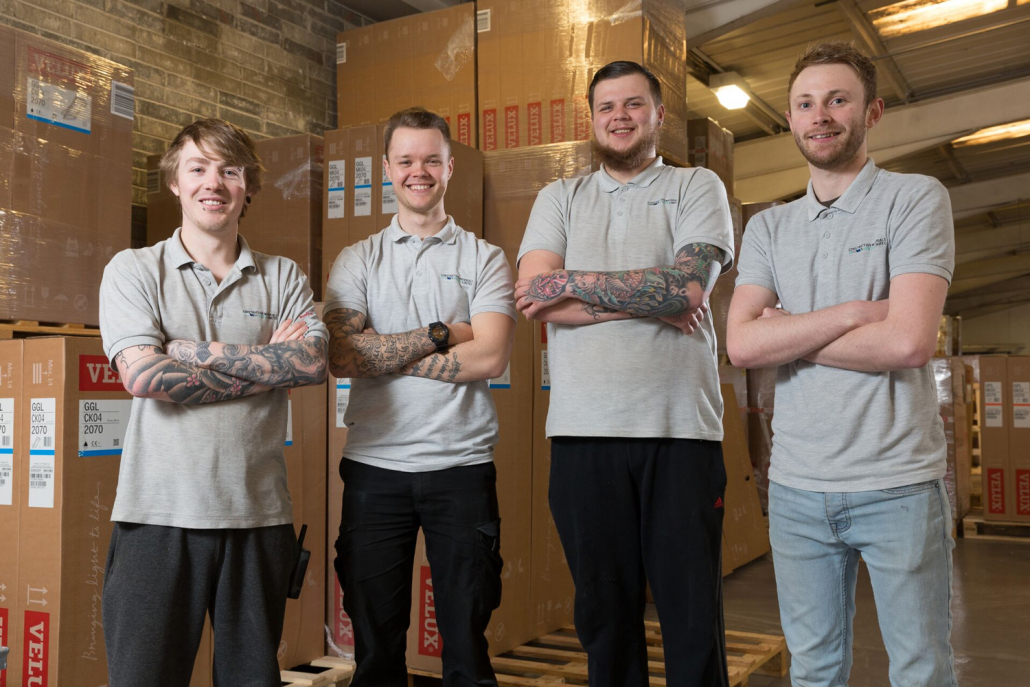 CMO warehouse team